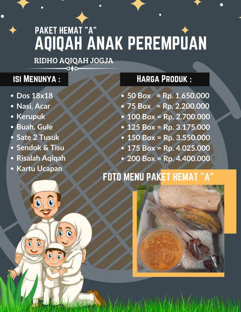 paket aqiqah hemat a pilihan menu terbanyak